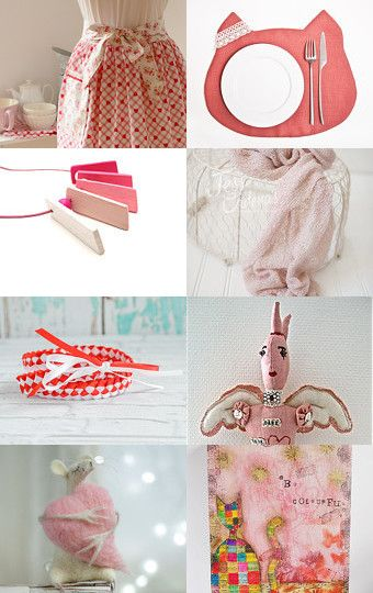 Color Crash - Pink  by Lana Moes on Etsy--