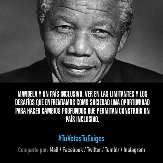 Mandela y un país inclusivo.
