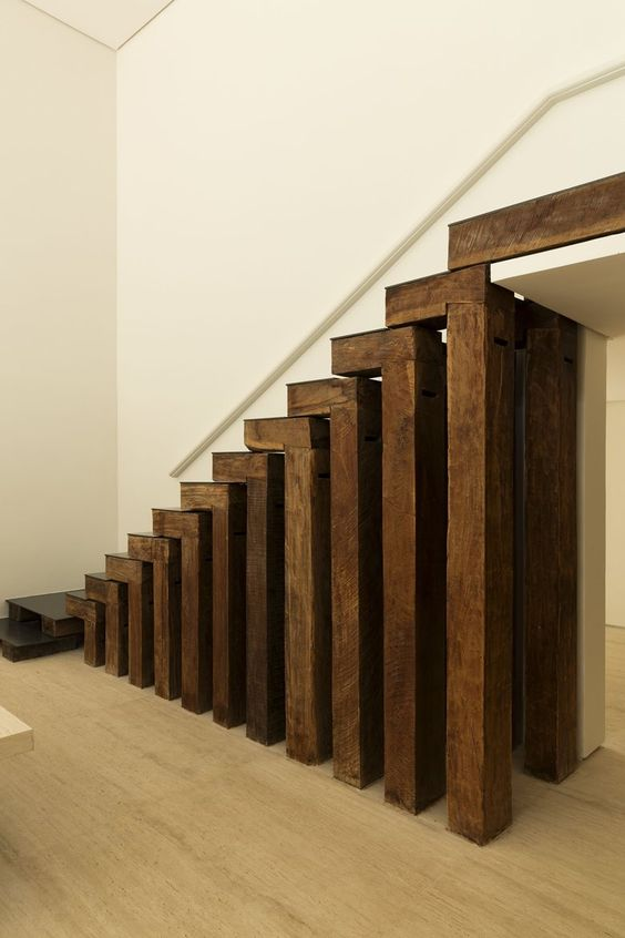 DS House, #Brazil | @studioarthurcas #staircase