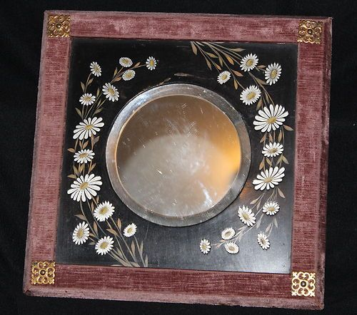 small painted mirror