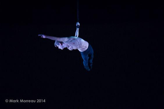 andie scott -  The National Centre for circus Arts - costume - aerial straps - Remy Archer-photo mark morreau