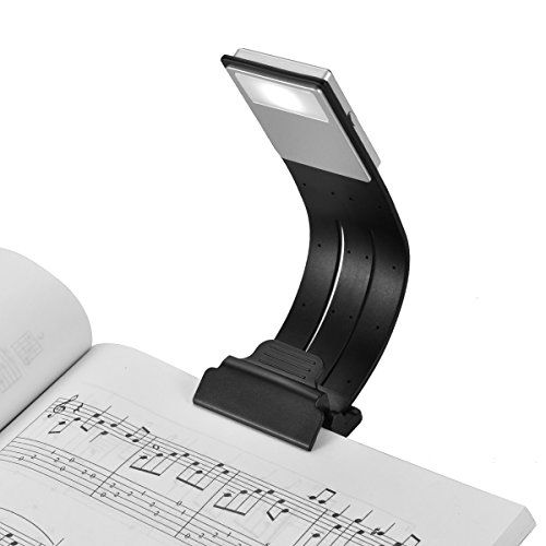Clip On Book Light Usb Rechargeable Led Reading Lamp Eye Care