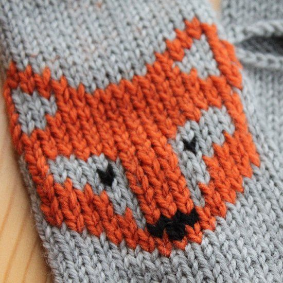 Video tutorial on how to add a duplicate stitch motif or embellishment to your knitting.