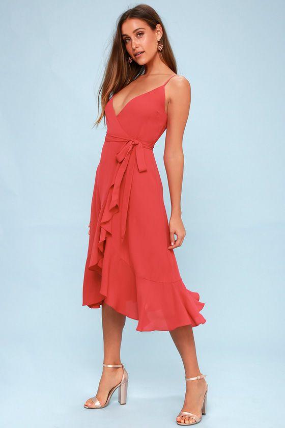 Vestidos Longo de verão rose