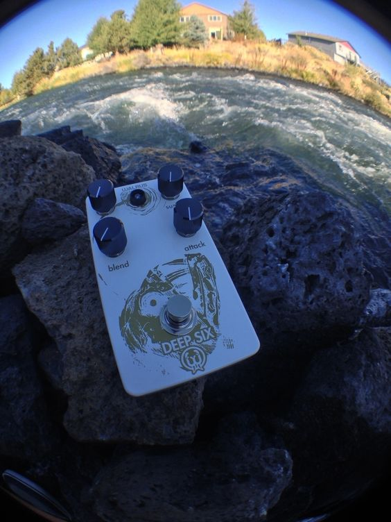 On our last edition of #throughafisheseye we come accros the Deep Six Angler Fish by @walrusaudioeffects. The Deep Six is a compressor that is limited only by the person using it. With is Blend, Attack and Sustain knobs this compression pedal will take you into the un known of tonal possibilities! Be sure to Check out the Deep six at RogueGuitarShop.com and pick one up for only $199.00! #rogueguitarshop #walrusaudio #anglerfish #knowyourtone #geartalk #knowyourtone #comp #compression #legit…