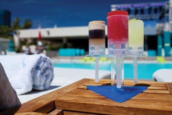 Grey Goose La Poire, Watermelon Mojito, and White Sangria Popsicles