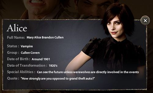 Alice Cullen New Moon The Cullens Alice Cullennew Cullens