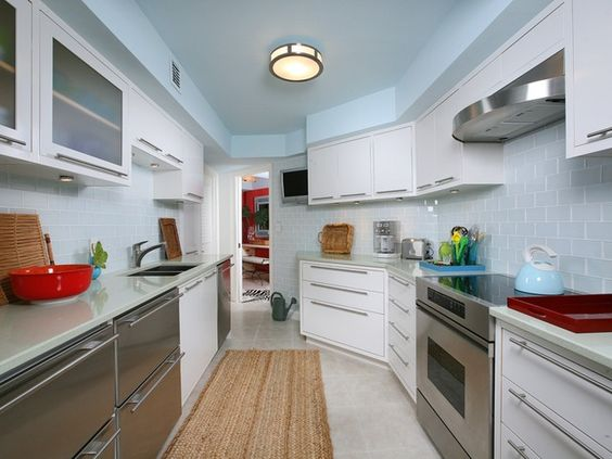 Contemporary Modern Condo Kitchen - Park Shore - Naples, Florida ...