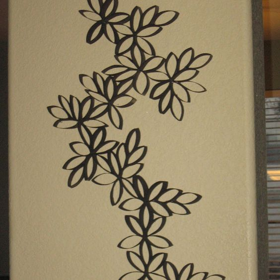 Paper towel roll art crafts pinterest paper towel for Arts and crafts with paper towel rolls