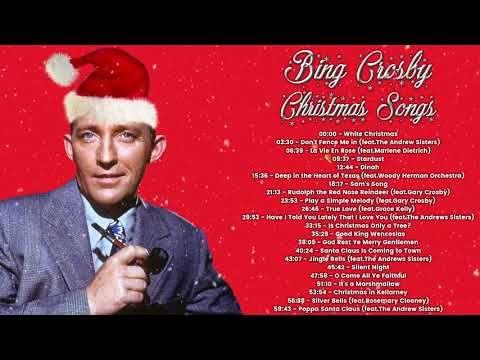 Bing Crosby Christmas Songs Full Album Youtube Best Christmas Songs Christmas Songs Youtube Xmas Music