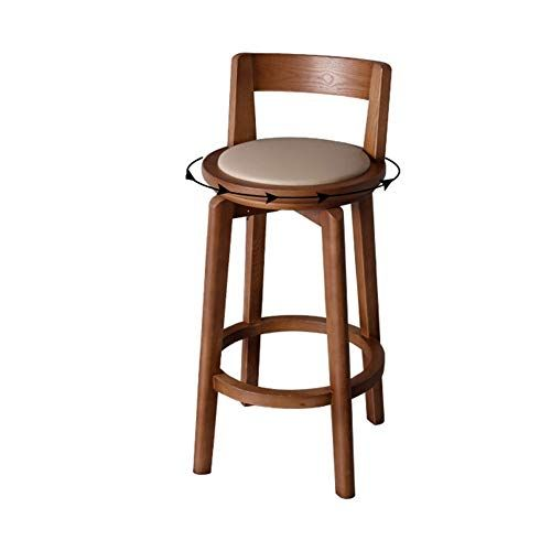 Weiyv Barstools Bar Chair Modern Simple Solid Wood Bar Counter Chair Home Nordic Backrest High Stool Bar Table Chair Ro Bar Stools Bar Chairs Modern Chairs
