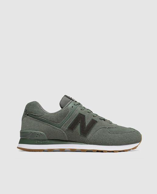 Zapatillas deportivas New Balance 574 de serraje en color ...