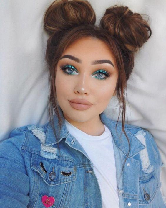 Krullen of stijl haar en permanent