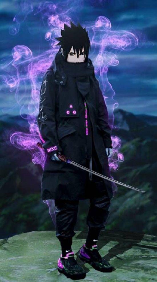 Gambar Sasuke Keren Di 2020 Naruto Uzumaki Naruto Minato Manga Anime