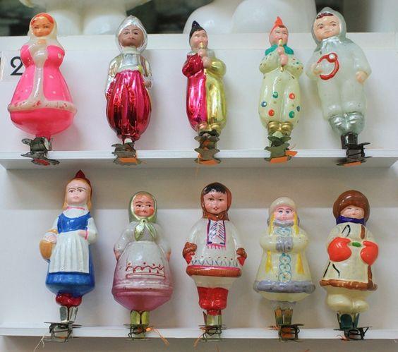 советские новогодние игрушки - Яндекс.Картинки: