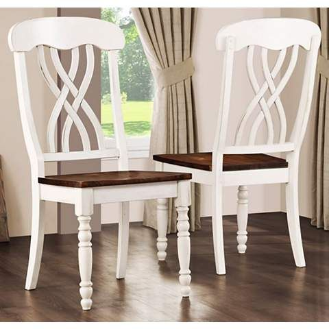 Farmhouse dining chairs Chairs and Products on Pinterest