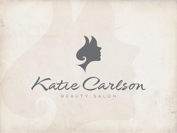 Logo design, Beauty Salon Logo, Hair Logo, Stylist Logo, Scissors ...