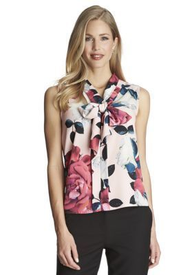 CeCe  Romantic Flower Blouse