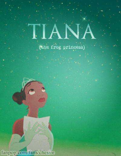 Tiana (the frog princess)