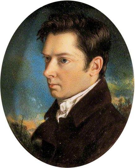 William Hazlitt (1778–1830) by John Hazlitt, his brother