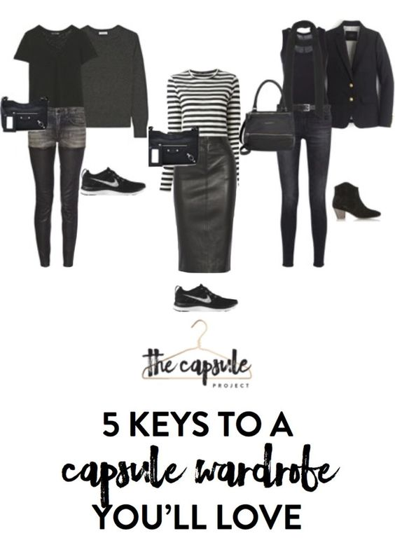 5 Tips to a Capsule Wardrobe You'll Love — The Capsule Project