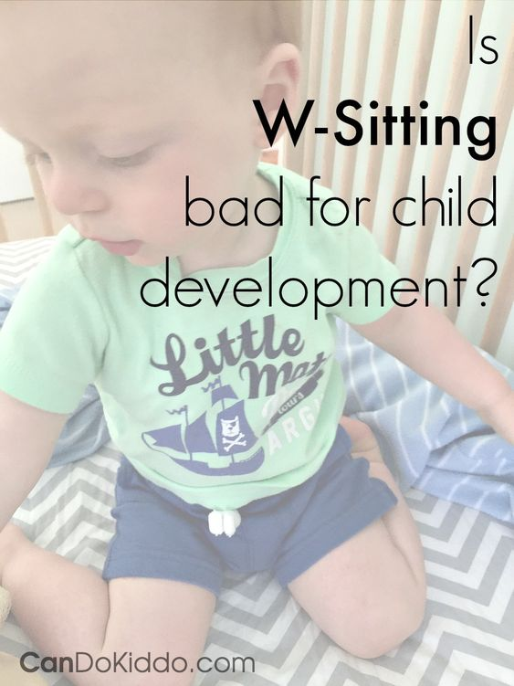 Parents often ask about W-sitting and if it's bad for development.Here's  this OT Mommy's perspective on W-sitting.