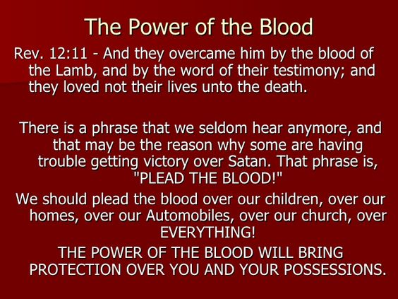 i plead the blood of jesus - Google Search