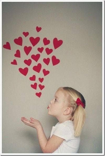 Love this idea for a valentines day shoot: