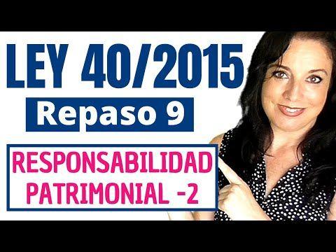 Ley 40 2015 De 1 De Octubre De Régimen Jurídico Del Sector Público Youtube Juridico Ley Administracion