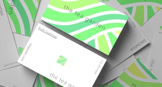 The Tea Garden : Re Brand by Adam Valley, via Behance