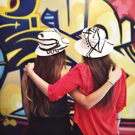 FRIENDSHIP HATS  Todd DiCiurcio: bucket hat