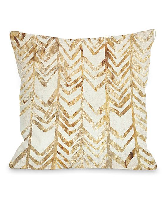 Gold Sparkle Throw Pillow : Gold Chevron Glitter Square Throw Pillow Blue and, Chairs and Inspiration