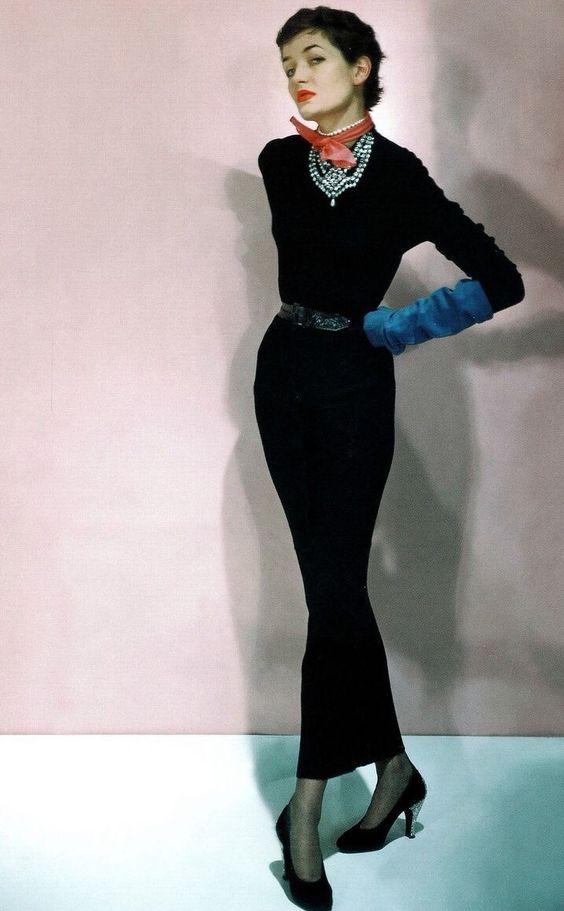 Maxime de la Falaise, photo by Horst, 1950
