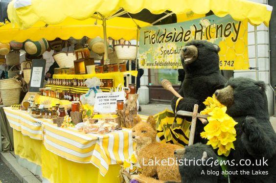 Fieldside Honey at the Kendal Festival of Food 2015