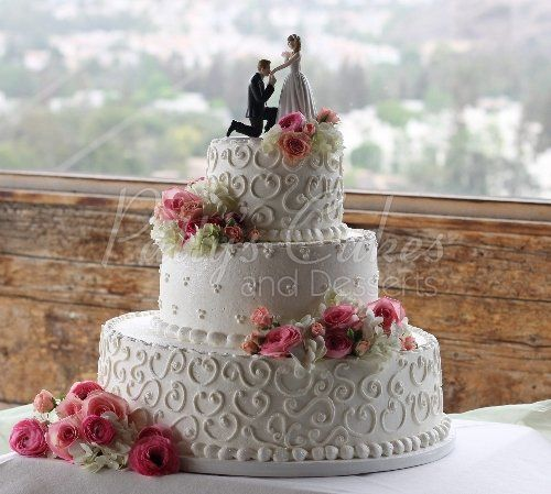 Orange County Mining Co Wedding Cake