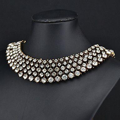 collar de cristal de la princesa de las mujeres de la eternidad - EUR € 10.31