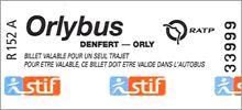 Visuel billet Orlybus: