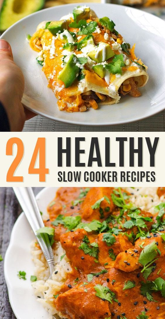 Healthy crockpot recipes slow cooker chicken and chicken for Delicious slow cooker soup recipes