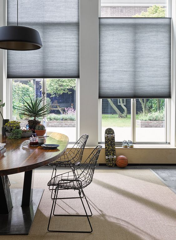 Luxaflex Duette® Shades are as beautifully stylish, as they are energy-efficient. Enjoy stunning designs and colours with a unique honeycomb design, that helps insulate your home all year round.