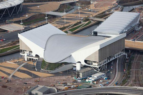 Aquatics Center (Zaha Hadid Architects) London 2012