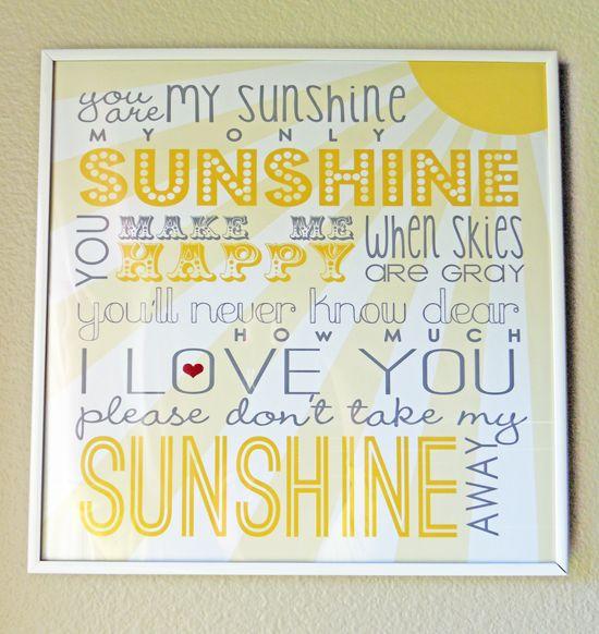 SunshinePrintable...Free!