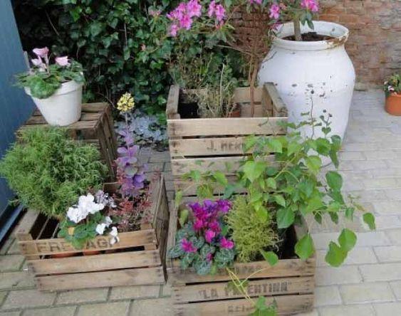 Caixotes de feira no jardim 007
