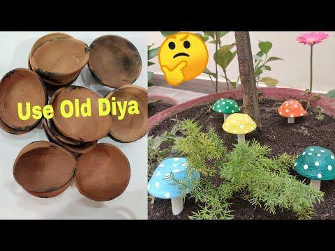 Waste Diya Reuse Idea Best Out Of Waste Diya Diy Garden Decor 1