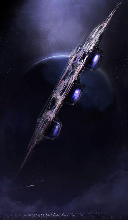 Spaceship by zeedurrani on deviantART
