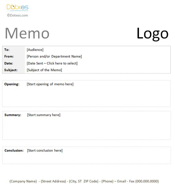 Business Memo Templates google docs Business memo Template - sample business memo