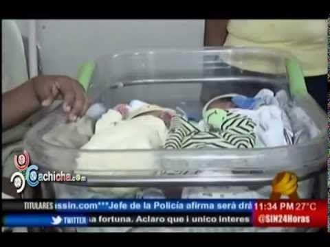 Ta de moda - Una mujer en Santiago dio a luz trillizos #Video - Cachicha.com
