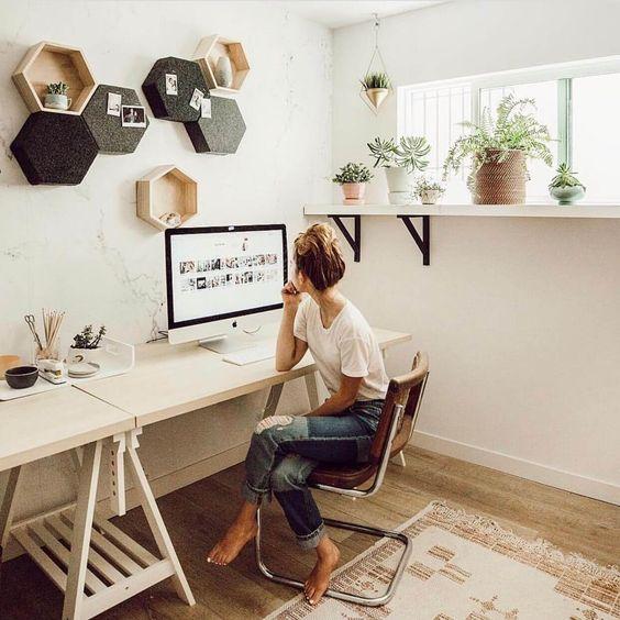 110 home offices mais incriveis do Pinterest