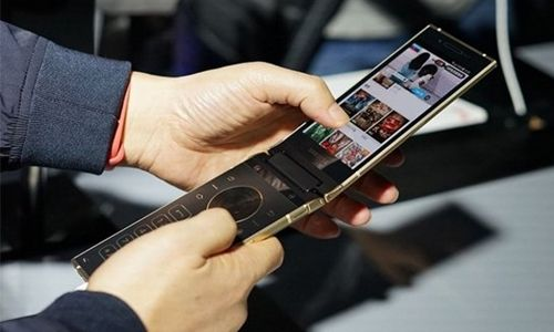 Samsung W2018 Akıllı Telefon