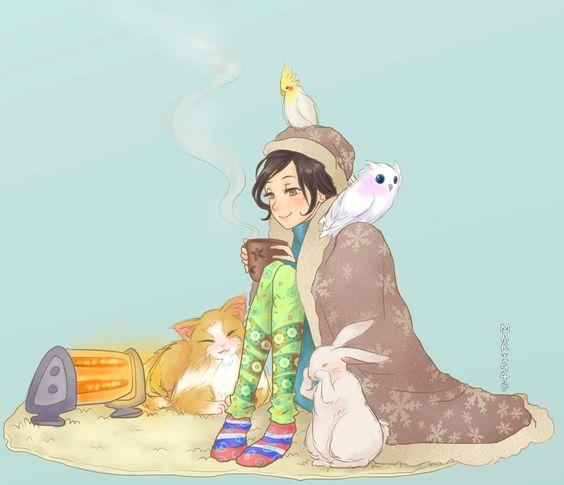 Happy New Year by Mari945 on DeviantArt