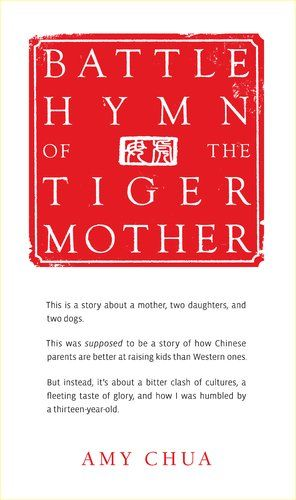Currently reading Battle Hymn of the Tiger Mother! I don't see what all the fuss is about, I think it's a funny memoir.